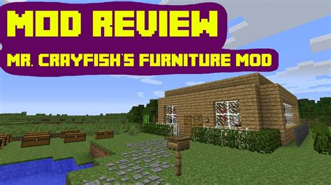 Mr Crayfish Furniture Mod by Minecraft Mod Showcase Mr Crayfish S Furniture Mod 1 7