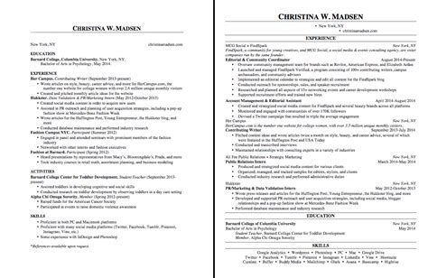 high school resume worksheet using your academic experiences to