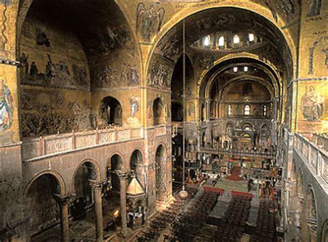 basilica di san marco interno la favola della botte basilica di san marco a venezia