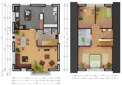 3d house plan image sle sle picture living room 1000 images about plattegronden on pinterest