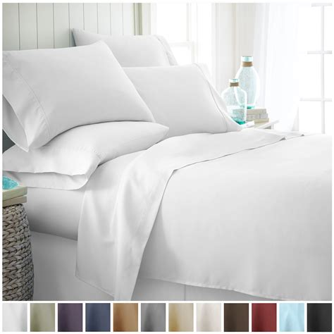 soft bed sheets ienjoy home premium ultra soft 6 piece bed sheet set