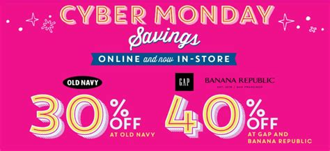 old navy coupons cyber monday old navy cyber monday 30 off site wide who said