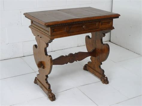italian renaissance walnut writing desk library table antique italian renaissance walnut writing