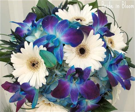 wedding bouquet blue 15 turquoise wedding bouquets for your d day