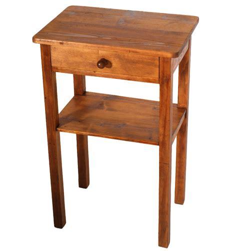 tavolino comodino comodino tavolino abete anni 30 40 arte povera restaurato