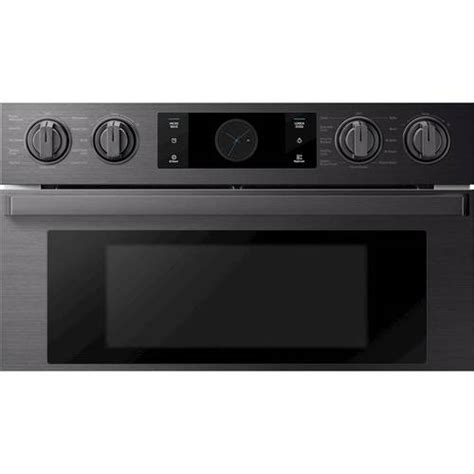 samsung 30 quot chef collection microwave combination oven with flex duo fingerprint resistant