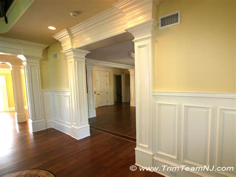 Dining Room Entrance Trim Doorsways And Archways Traditional Dining Room By