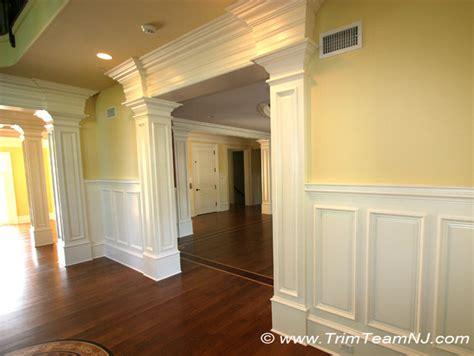 doorsways archways traditional dining room york trim team nj