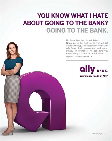 bank ally ally bank no branches ad the financial brand