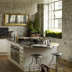 Ideas For Kitchen Walls by 10 Fab Kitchen Ideas Using Brick Walls Decoholic