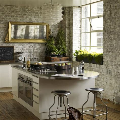 wall ideas for kitchens 10 fab kitchen ideas using brick walls decoholic