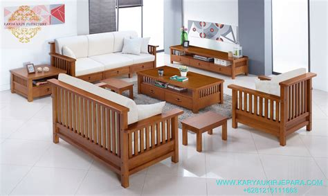 Harga Furniture Jati by Kursi Tamu Jati Minimalis Murah Karya Ukir Furniture Jepara