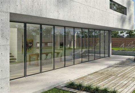 Glass Folding Doors Exterior Exterior Folding Glass Doors By Solarlux