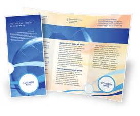 Business Brochure Design Templates Free World Business Brochure Template Design And Layout