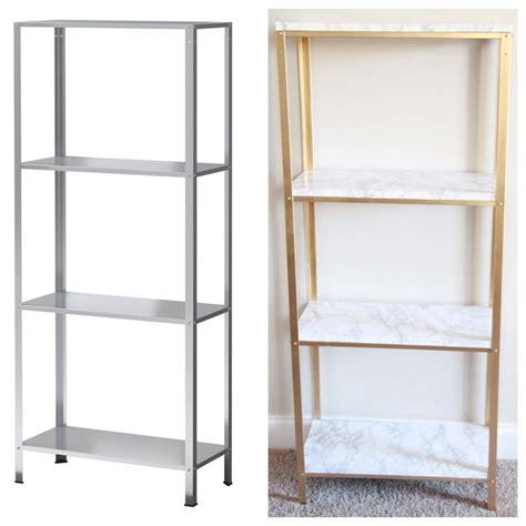 ikea hack shelves best 25 gold shelves ideas on pinterest beauty room