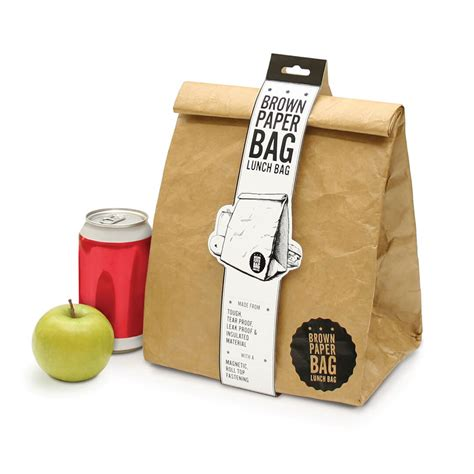 How To Make A Paper Lunch Bag - brown paper lunch bag