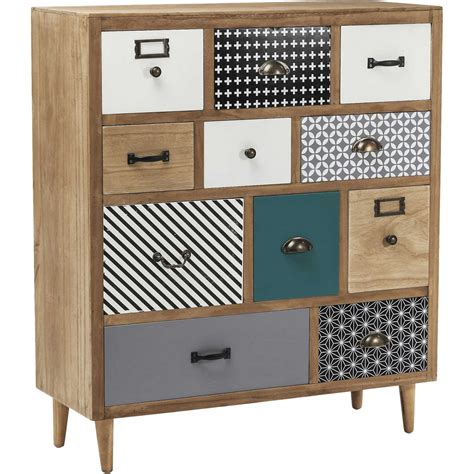 Commode scandinave en bois   Capri   Kare Design