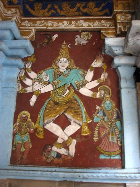 Images Of Wall Murals indian heritage temple murals thyagarajaswamy temple
