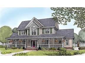 2 Story Farmhouse Plans by Amish Hill Country Farmhouse Plan 067d 0011 House Plans