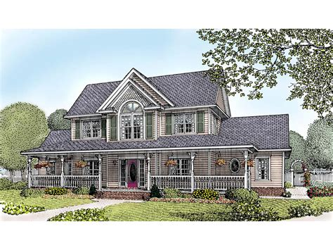 Farmhouse Style Home Plans Amish Hill Country Farmhouse Plan 067d 0011 House Plans And More