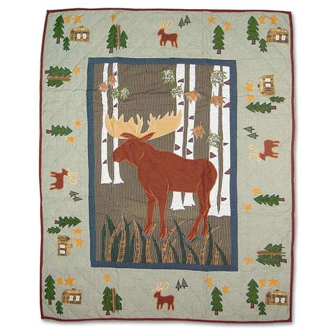moose crib bedding moose crib bedding 28 images great alaska woods red
