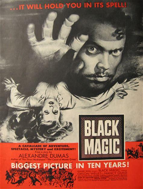 film mandarin black magic 1949 movie ad black magic orson welles vintage movie ads