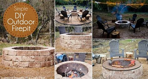 how to build your own firepit how to build your own pit j n roofing maintenance