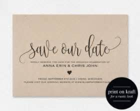 wedding save the dates etsy