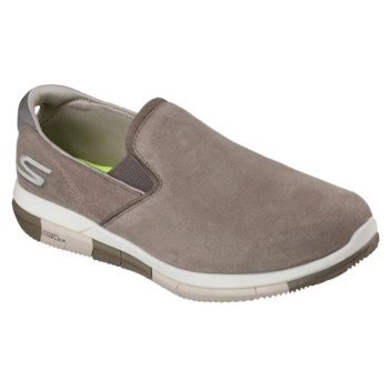 Importir Skechers Goflex Sale skechers goflex walk comrade slip on sneaker khaki leather