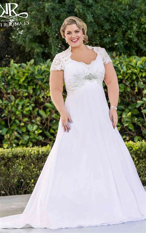 Plus Size Wedding Dresses On Plus Size Models by Plus Size Models In Wedding Dresses Pluslook Eu Collection