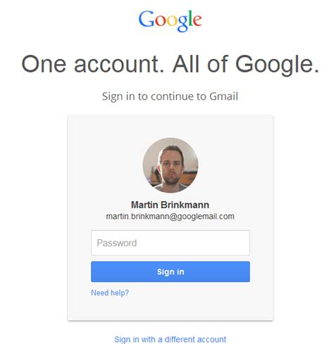 google gmail email account login page google sign ins have become a tad more difficult for multi