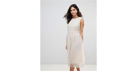 Dress Hello White Tr 07 lyst connection lace maxi dress in white
