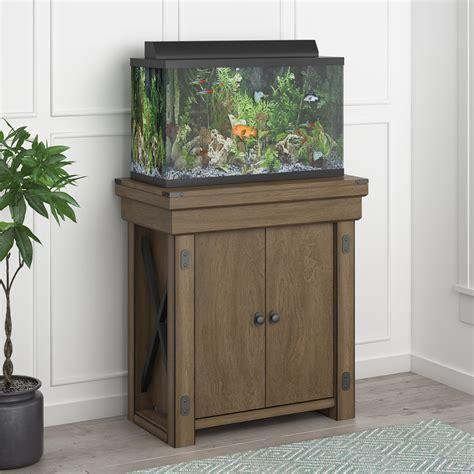ameriwood furniture wildwood 20 gallon aquarium stand