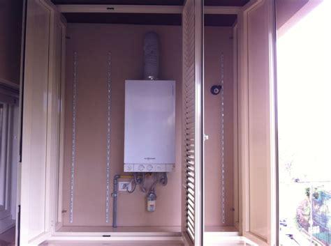 armadio caldaia esterna copricaldaia da esterno in alluminio su misura alfa