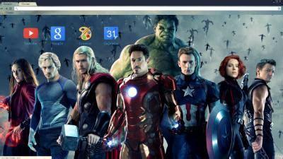 chrome theme avengers hulk chrome themes themebeta