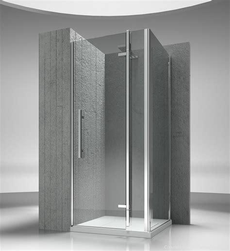 box doccia in vetro temperato box doccia angolare su misura in vetro temperato tiquadro