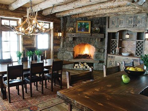 Dining Room Kitchen Fireplace Photo Page Hgtv
