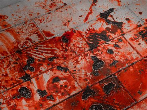Blood On The Floor by Blood Performance Kitchen Floor Rick Powell