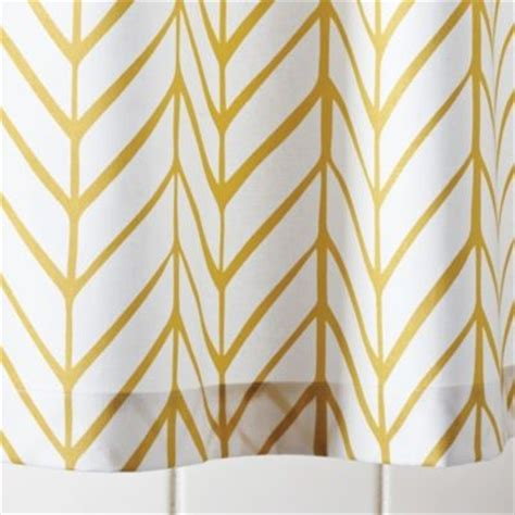 Shower Curtains For Kids Bathrooms - mustard feather shower curtain traditional shower curtains