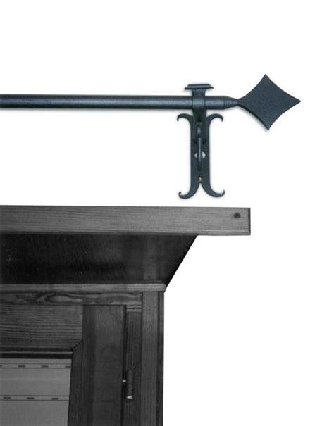 tende con bastone in ferro battuto ziranu salvatore bastone per tende modello lancea in