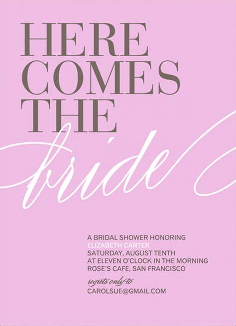 Wedding Invitation Free Sles by Bridal Shower Invitation Sles Wedding Invitation Ideas
