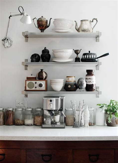 shelves in kitchen ideas interior envy open kitchen shelves pardon my