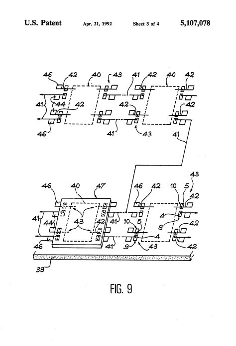 elements of integrated circuit brevetto us5107078 electric connection or disconnection element integrated circuit including