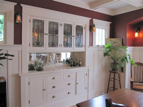 built in cabinets in dining room built in buffet design ideas dining room craftsman with