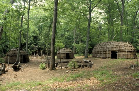 villages in america iroquois village native american tribes and cultures