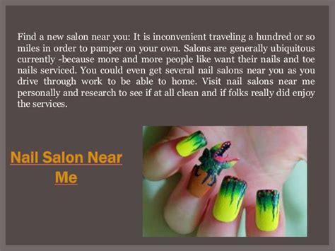find me a nail salon nail salon near me