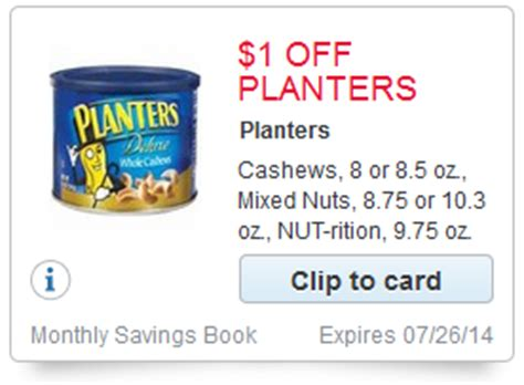 planters nut rition new 1 00 1 coupon