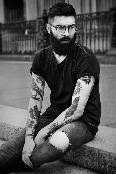 tattooed men glasses are gorgeous fashion lifestyle by selectspecs