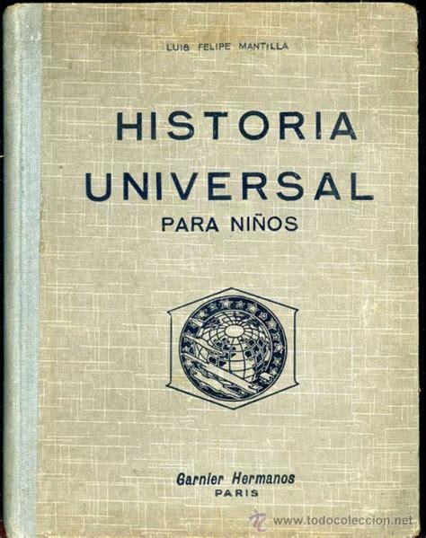 historia universal para ni 241 os antiguo libro de comprar libros antiguos de texto y escuela en