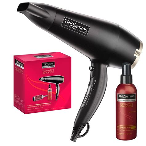 Hair Dryer Tresemme tresemme keratin smooth hairdryer set hair styling